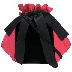 Gorgeous Saint Laurent Silk Evening Bag