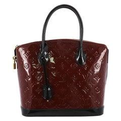 Louis Vuitton Lockit Handbag Monogram Vernis PM