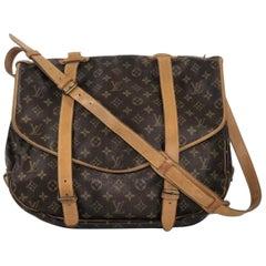 Louis Vuitton Monogram Saumur 43 Crossbody Shoulder Handbag