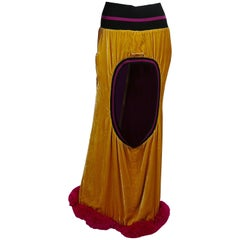 Jean Paul Gaultier Extravagant Maxi Skirt US Size 8