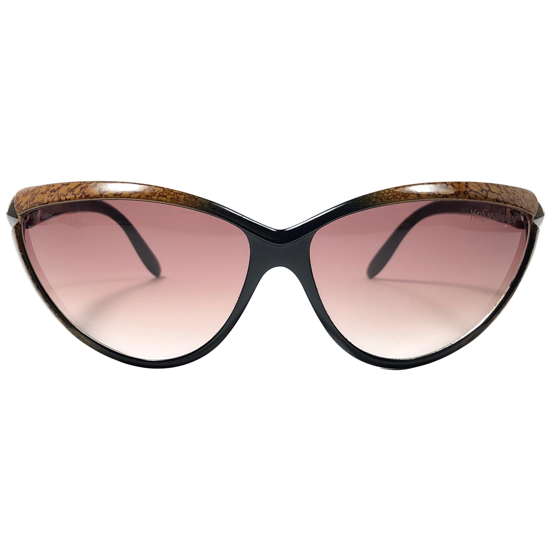 Vintage Yves Saint Laurent 8895 Cat Eye 1990's Paris Sunglasses