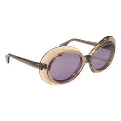 Vintage Serge Kirchhofer Mod 86 Oversized Sunglasses Austria 1970