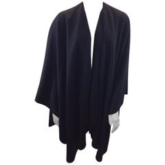 Loro Paina Black Cashmere Shawl