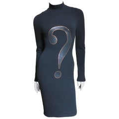 Moschino Question Mark Dress