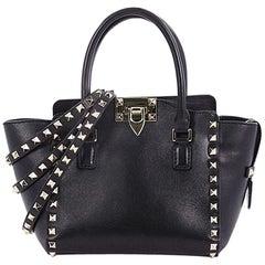 Valentino Rockstud Tote Rigid Leather Mini