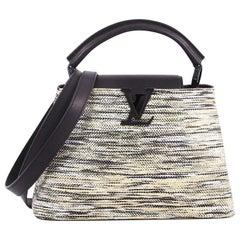 Louis Vuitton Capucines Handbag Limited Edition Broderies BB