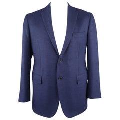 SARTORIA PARTENOPEA 44 Regular Navy Wool / Cashmere Sport Coat