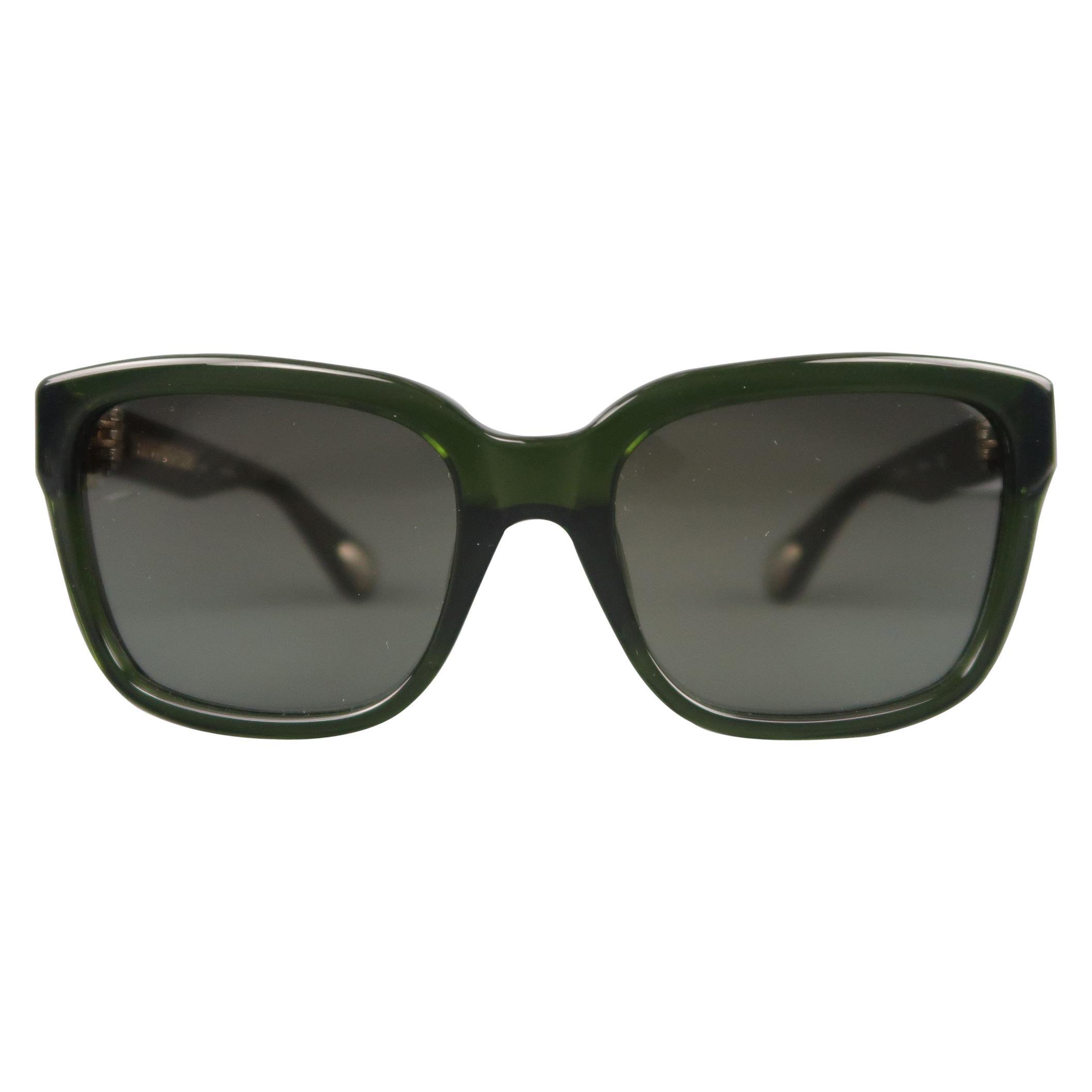 5b8b93e6e1 PRADA Black Acetate Oversized Square Frame Sunglasses at 1stdibs