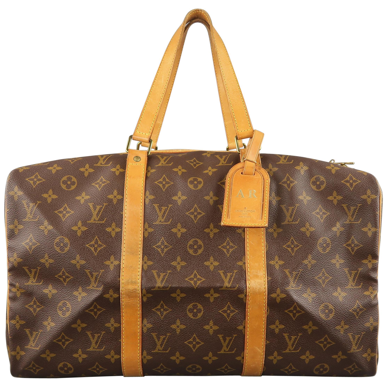 9e57769a27b1 LOUIS VUITTON Brown Monogram Canvas SAC SOUPLE 45 Travel Bag at 1stdibs