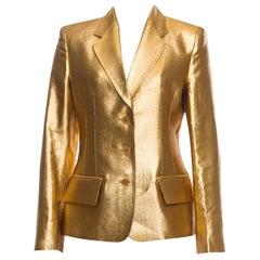 New Vintage Yves Saint Laurent YSL F/W 1998 Blazer Jacket Designer Alber Elbaz