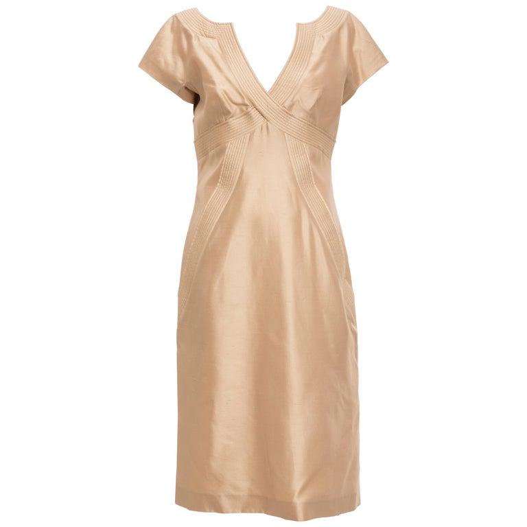 Alexander McQueen Silk Evening Dress, Spring 2006 For Sale