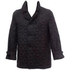 Comme des Garcons SHIRT Men's Black Quilted Stars Lightweight Jacket, 2005