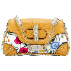 Gucci Collector mini flower crystal bag