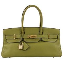 Hermes Birkin JPG Handbag Vert Chartreuse Togo with Gold Hardware 42