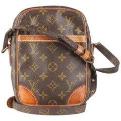 Louis Vuitton Vintage Monogram Canvas Danube Crossbody Bag