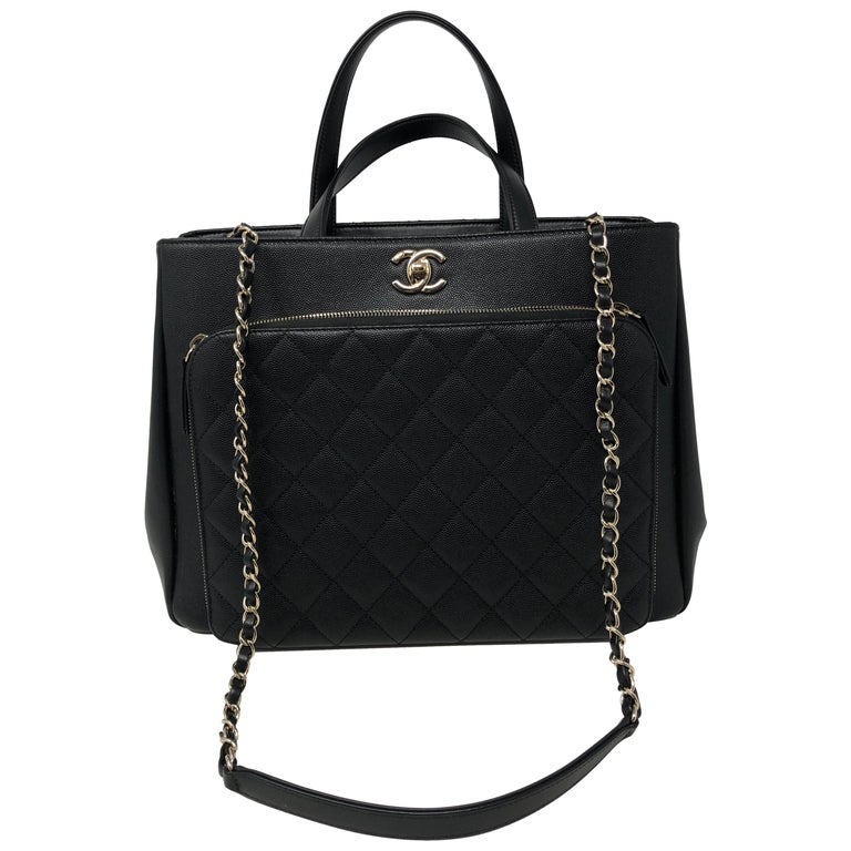 fce52c212974 Chanel Black Affinity Bag For Sale. Chanel Affinity Black Bag. Nice pebbled  leather with no wear. Like new condition.