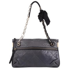 Lanvin Amalia Shoulder Bag Lambskin Medium