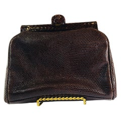 Prada Embossed Leather Clutch