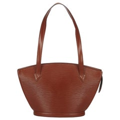 Louis Vuitton Brown Epi Saint Jacques Long Strap