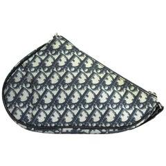 Dior Blu Sadle Vintage Bag
