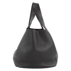 Hermes Picotin Handbag Clemence GM