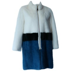 Algo Mink Fur Coat