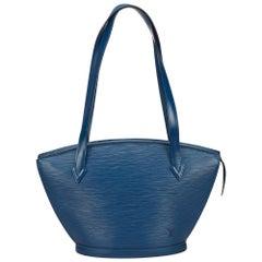 Louis Vuitton Blue Epi Saint Jacques PM