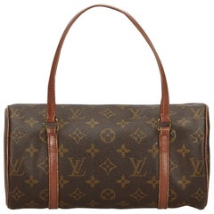 Louis Vuitton Brown Monogram Papillon 30