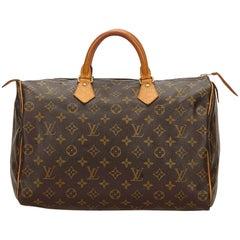 Louis Vuitton Brown Monogram Speedy 40