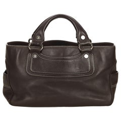 Celine Brown Leather Boogie