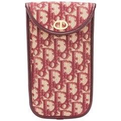 1970s Dior Bordeaux Case