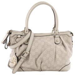 Gucci Sukey Top Handle Satchel Guccissima Leather Medium