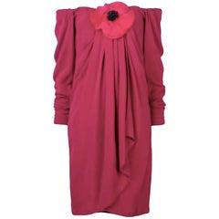 Saint Laurent Pink Cocktail Dress