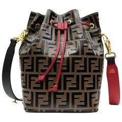 Fendi Monogram Mon Tresor Medium Bucket Bag