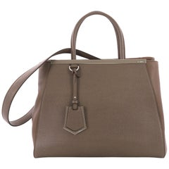 Fendi 2Jours Handbag Leather Medium,