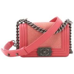 Chanel Boy Flap Bag Stingray Mini