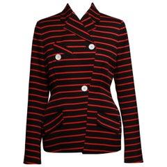 Proenza Schouler 2017 Double Breasted Stripe Jacket