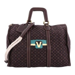 Louis Vuitton Keepall Bag Limited Edition Initiales Mini Lin