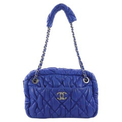 Chanel Bubble Camera Bag Quilted Lambskin Small