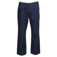 Givenchy Indigo Denim Straight Fit Jeans XL
