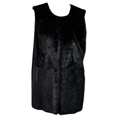Black Theory Nutria Fur Vest