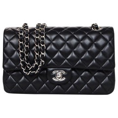 39a646b8626210 Chanel '18 Black Quilted Lambskin Leather 10