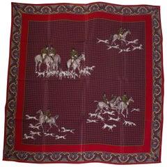 Vintage Asprey Silk Scarf