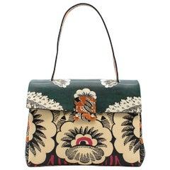 Valentino Floral Printed Top Handle Bag