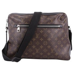 Louis Vuitton Torres Handbag Macassar Monogram Canvas GM