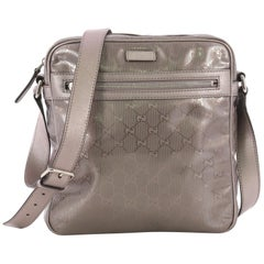 Gucci Zip Crossbody Bag GG Imprime Medium