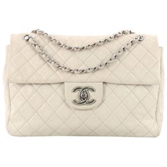 Chanel Classic Soft Flap Bag Quilted Caviar Maxi