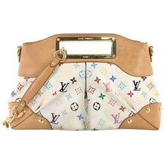 Louis Vuitton Judy Handbag Monogram Multicolor MM