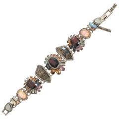 Oscar De La Renta bracelet featuring Dichromic glass