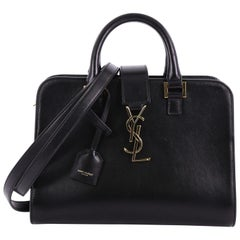 Saint Laurent Monogram Cabas Downtown Leather Baby